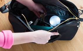Light in the darkest corner of your handbag?