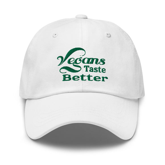 Vegans Taste Better Dad hat