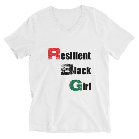 RBG (Girl) Unisex V-Neck Tee