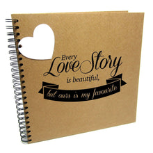 Every Love Story is Beautiful, but Ours is my Favourite, Quote Banner Album