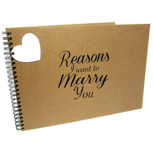 Reasons I Want to Marry You, Scrapbook Album