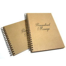 Personalised Sketchbook, Portrait/Landscape, Acid Free Cartridge Paper