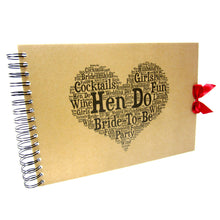 Hen Do Scrapbook, Typography Design, Memory Album