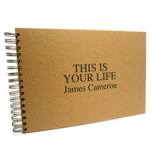 Personalised THIS IS YOUR LIFE Album (Kraft)