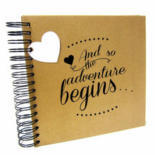A3/A4/A5 So Adventure Begins, Scrapbook, Card Pages, Photo Album, Memory Book