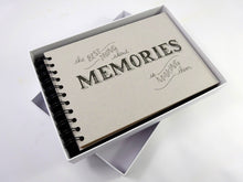 "Boxed Best Memories Photo Album Scrapbook, Gift Memory Book, A5 6x4"" Prints"