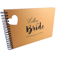 A3/A4/A5 Letters to the Bride, Scrapbook, Card Pages, Photo Album, Memory Book