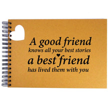 A3/A4/A5 Good Stories Best Friends, Scrapbook, Card Pages, Photo Album, Memories