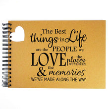 A3/A4/A5 Life Friends & Family, Scrapbook, Card Pages, Photo Album, Memory Book