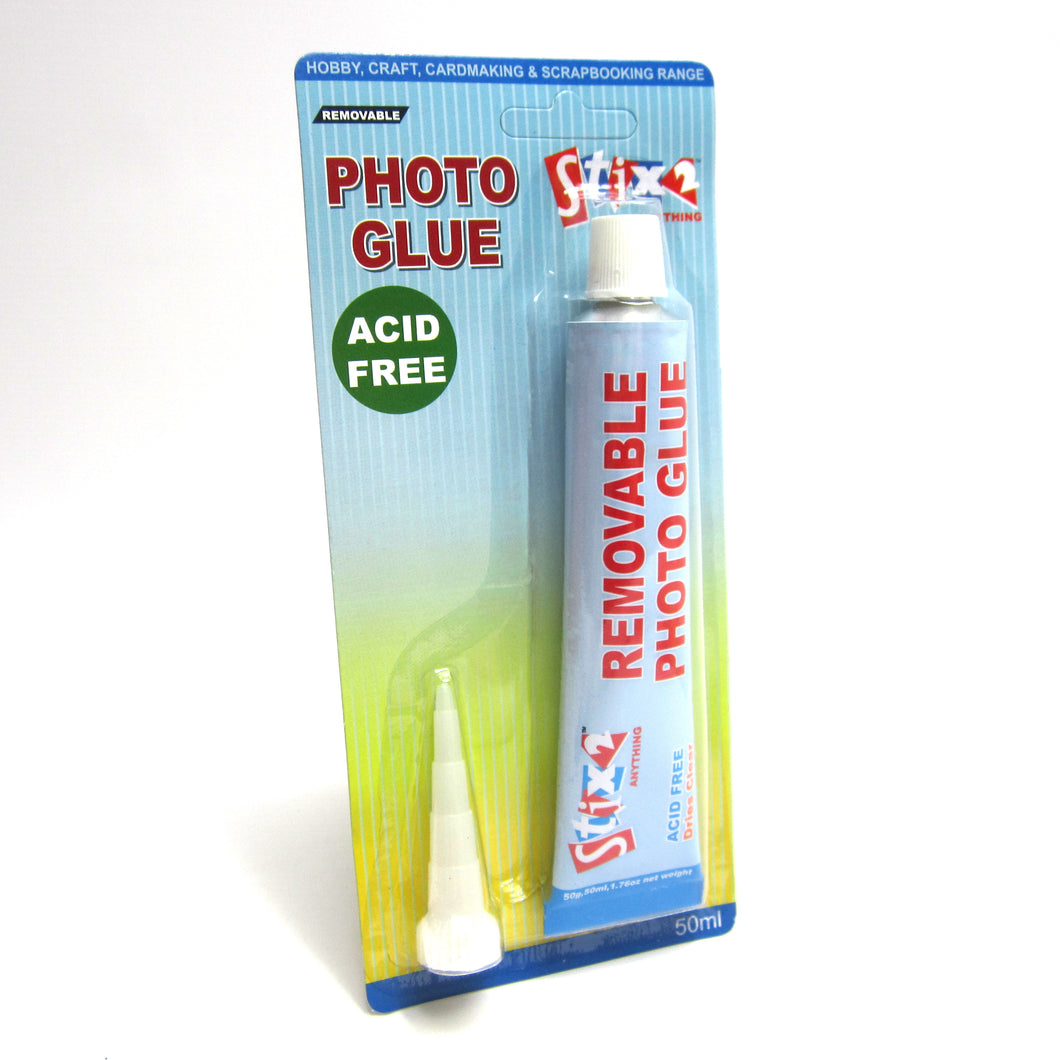 Photo Glue, Acid Free (Removable) 50ML