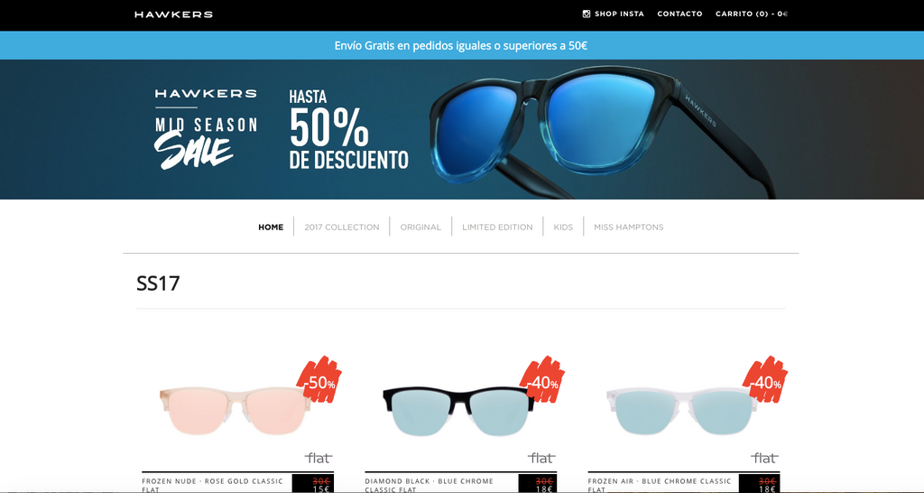 ratio conversion tienda online