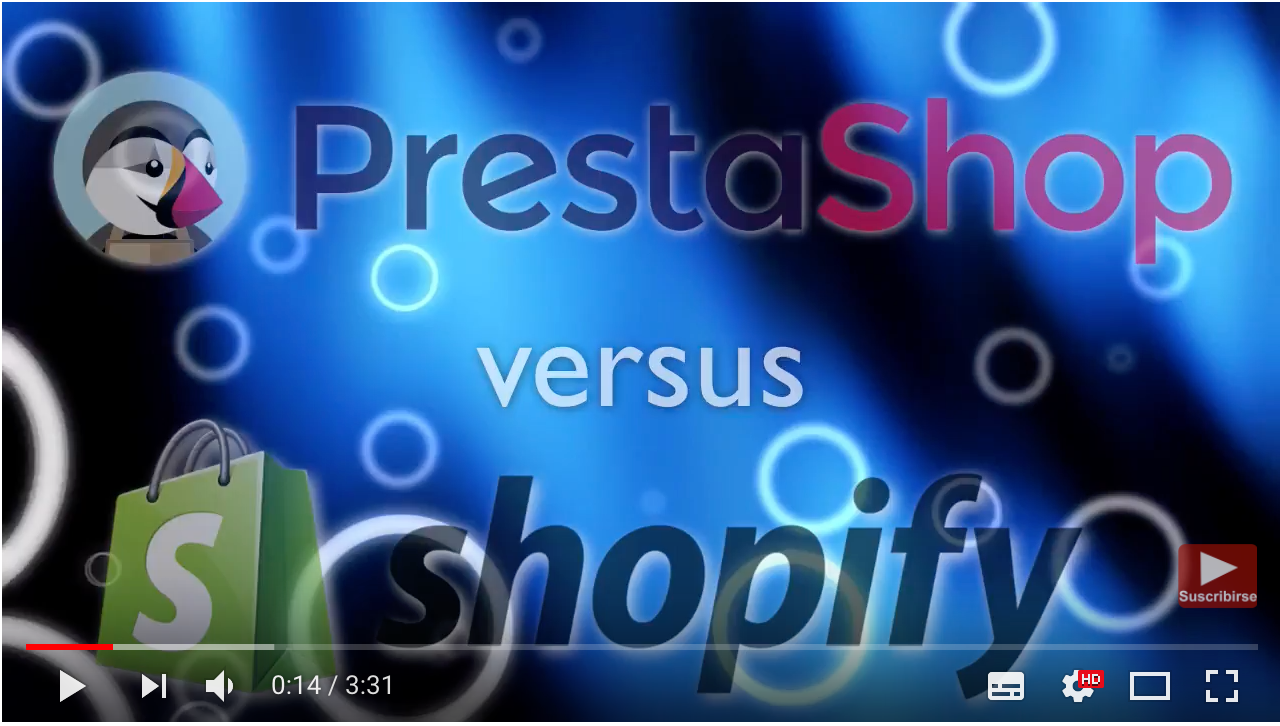 Prestashop vs Shopify