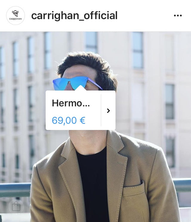Carrighan instagram sales