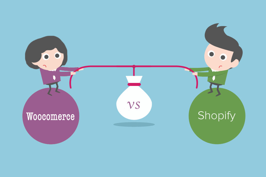 Diferencias Woocomerce shopify