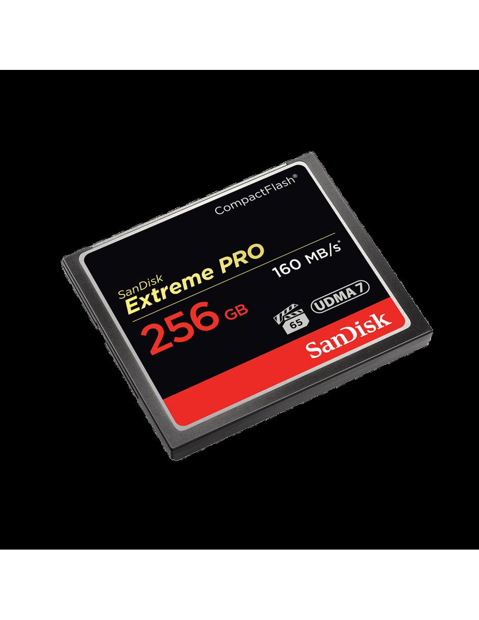 Memoria Flash SanDisk Extreme PRO, 256GB, CompactFlash