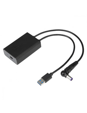Targus Adaptador USB-A/Power Macho - USB-C Hembra