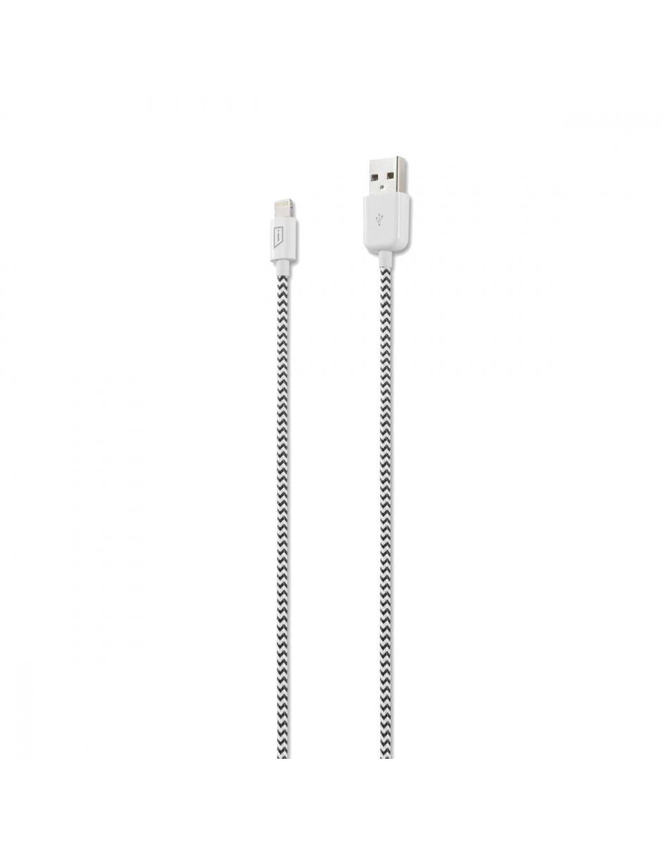 Targus Cable Lightning Macho - USB A Macho, 1.2 Metros, Plata