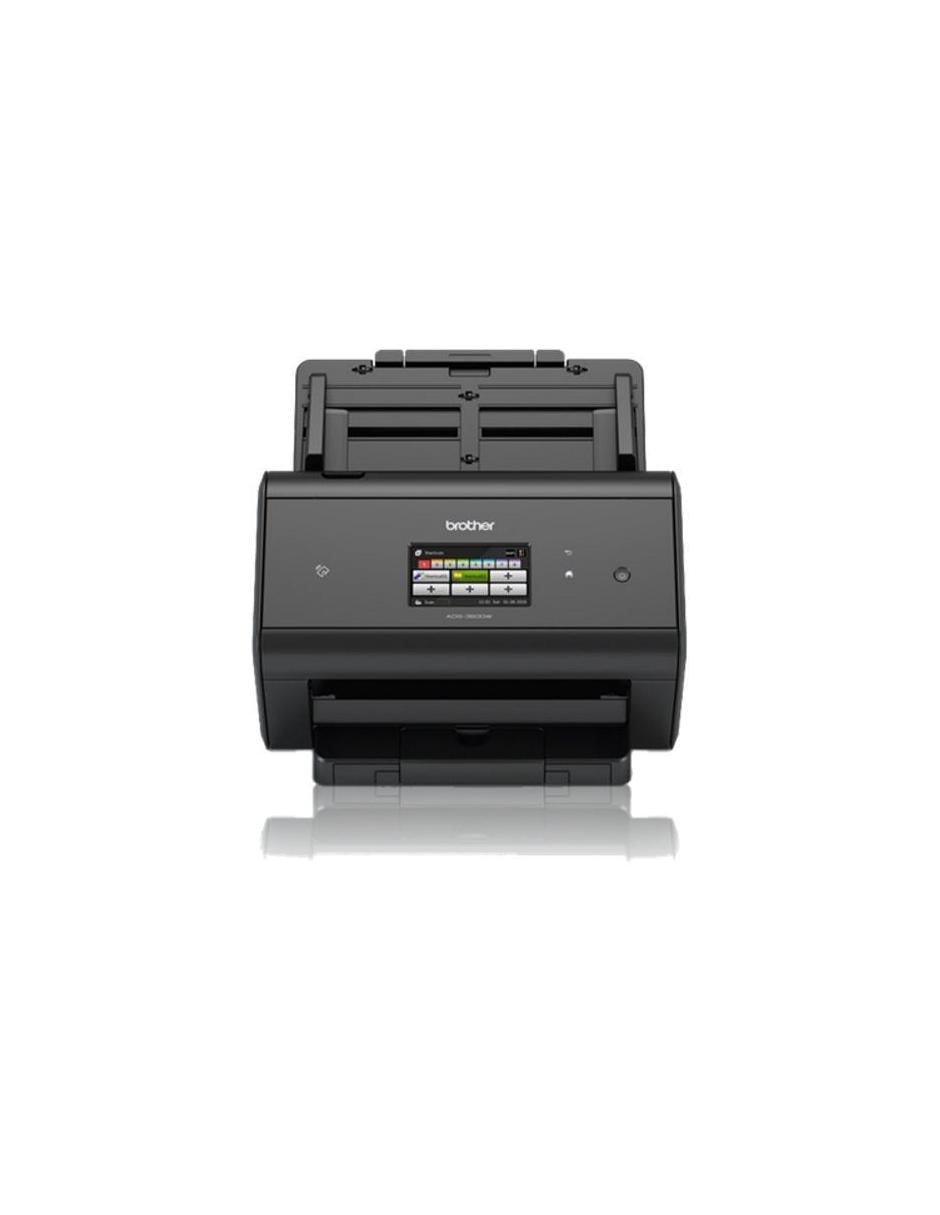 Scanner Brother ADS-2800W, 600 x 600DPI, Escáner Color, USB 2.0, Negro