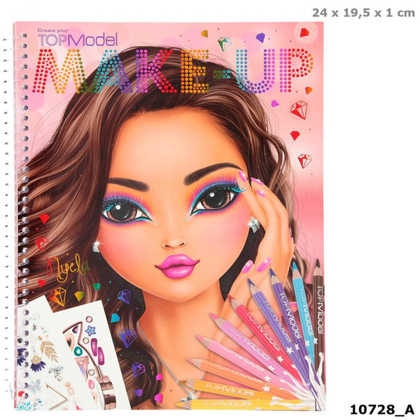 Make up colouring book