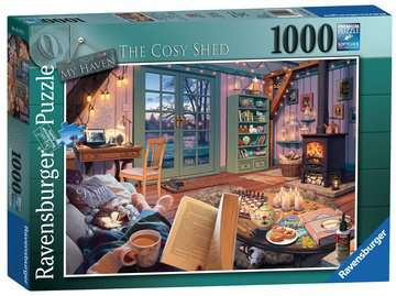 Cosy shed 1000pc 15175