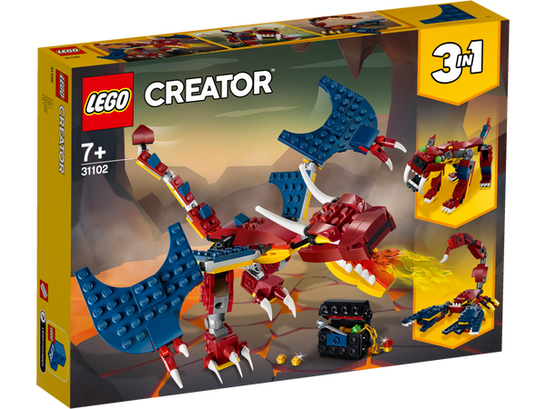 Fire Dragon | 31102 | Lego