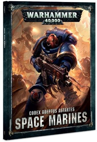 CODEX: SPACE MARINES (OUTMODED)