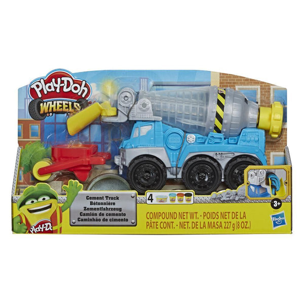 play doh cement truck