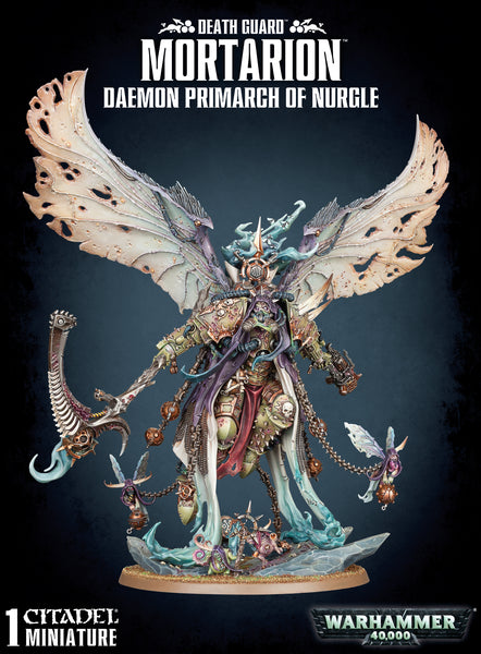 Daemon Primarch of Nurgle: Mortarion | 43-49