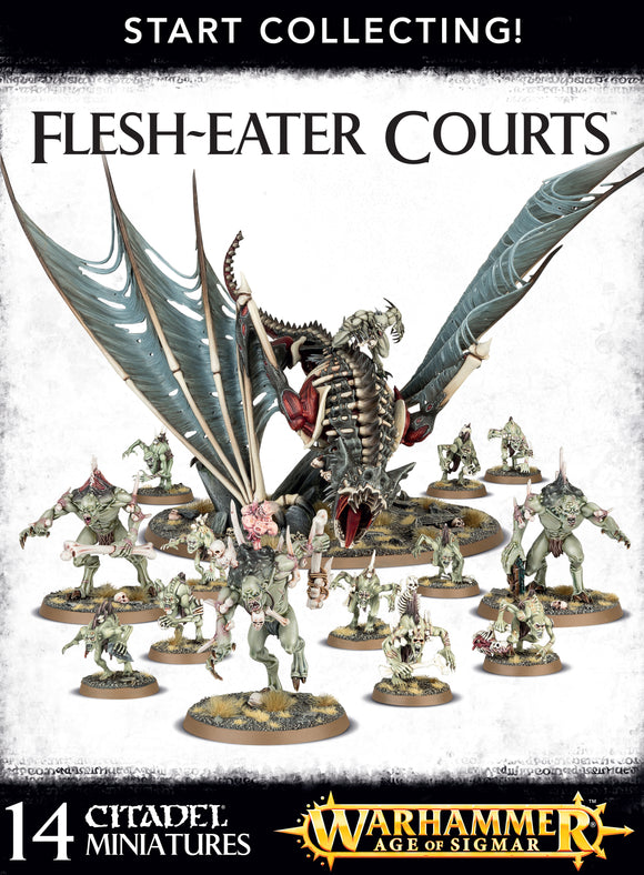 70-95 Start collecting! Flesh-eater courts