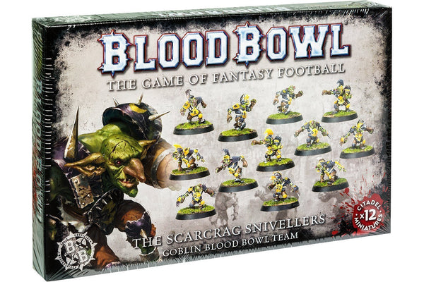 Blood Bowl Scarcrag Goblins