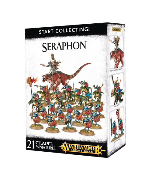 Start collecting Seraphon | 70-88
