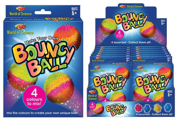Make your own bouncy ball in colour