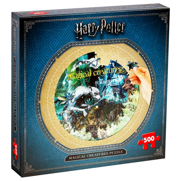 Harry Potter Magical Creatures 500 Piece Jigsaw