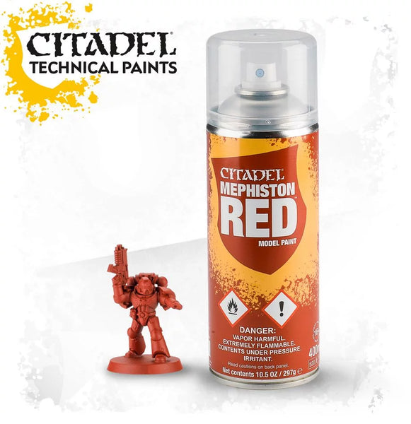 Mephiston red spray paint | 400ml | 62-15