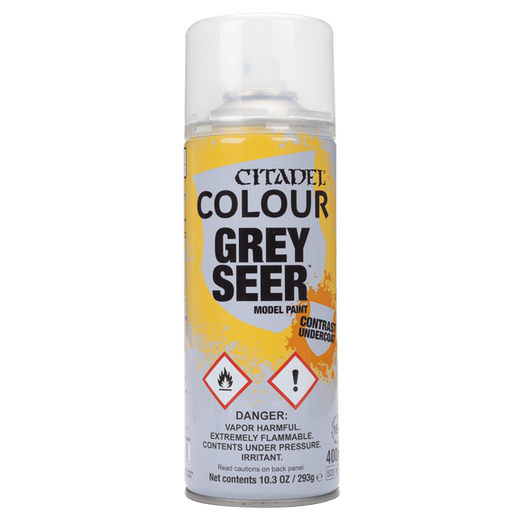 Grey seer spray paint | 400ml | 62-34 *Read Description