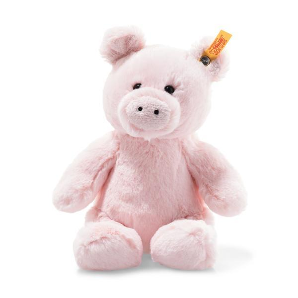 057151 Soft Cuddly Friends Oggie pig pin 18cm