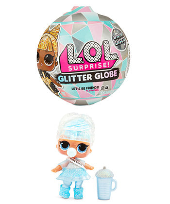 LOL winter disco glitter globe