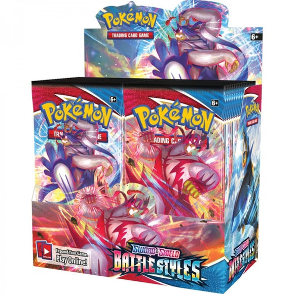 Pokemon TCG: S&S Battle Styles Booster