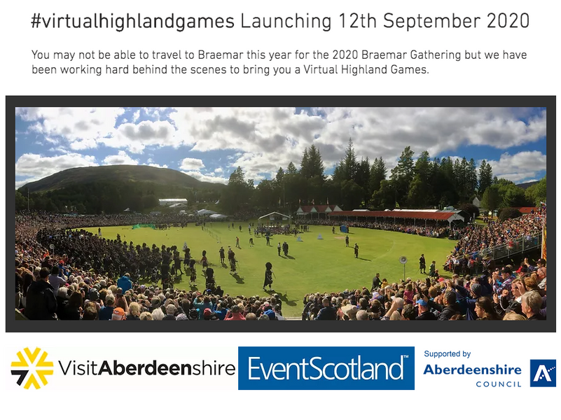 2020 Highland Games with a Virtual Twist