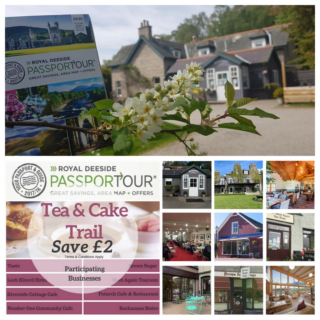 Royal Deeside Passportour Travel guide and things to see and do in Cairngorms Aberdeenshire with the tea and cake trail