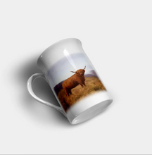 "Load image into Gallery viewer, ""Highland Cow"" - Highland Collection Bone China Mug"