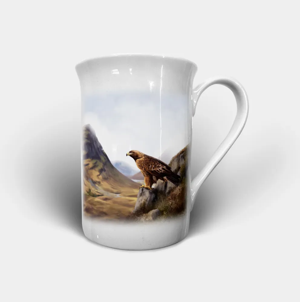 """Eagle"" - Highland Collection Bone China Mug"