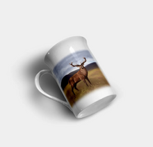 "Load image into Gallery viewer, ""Stag"" - Highland Collection Bone China Mug"