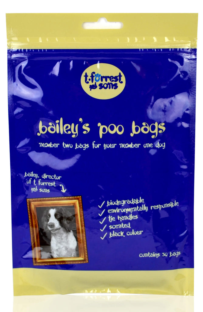 50 Scented Poo Bags
