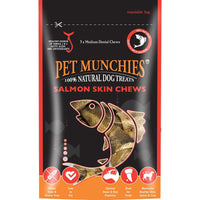 Pet Munchies Salmon Skin Chews, 90g