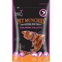 Pet Munchies Salmon Fillets, 90g