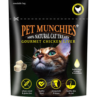 Pet Munchies Gourmet Chicken Liver 100% Natural Cat Treats