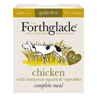 Forthglade Grain Free Chicken with Butternut Squash & Vegetables, 395g (Wet)