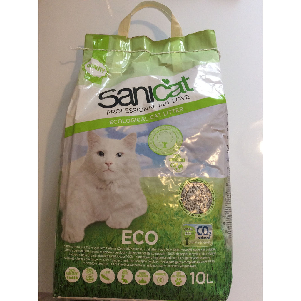Sanicat Eco-friendly Cat Litter with Odour Control, 10l