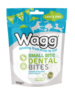 Wagg Lamb and Mint Dental Bites, 100g